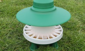 Poultry feeder & drinker twin pack